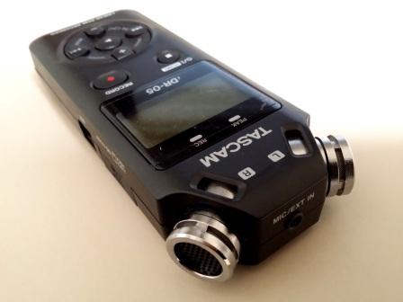 レコーダーTASCAM  DR-05 と ZOOMズーム H1/MBの比較口コミ