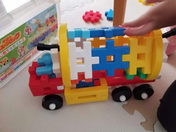 学研のニューブロックは赤ちゃんの誤飲防止になるおもちゃ